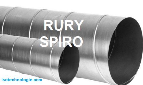 Rury spiro